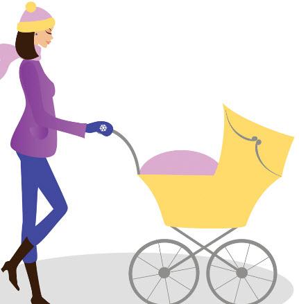 婴儿车的选择及使用方法